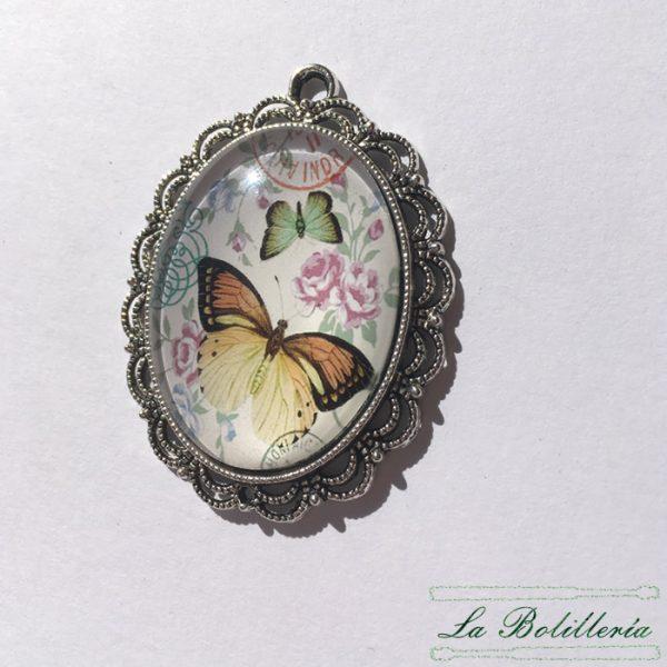 Cabuchones Cristal Mariposa Modelo 4