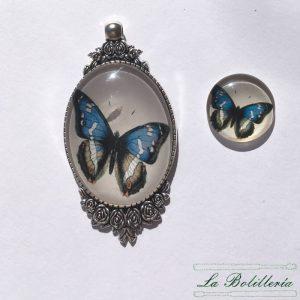 Cabuchones Cristal Mariposa Modelo 5