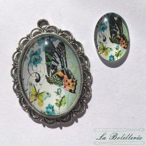 Cabuchones Cristal Mariposa Modelo 6