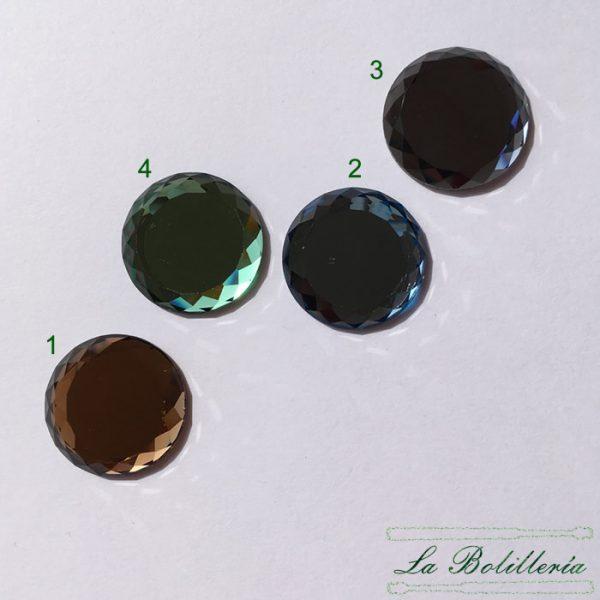 Cabuchones Cristal 25mm