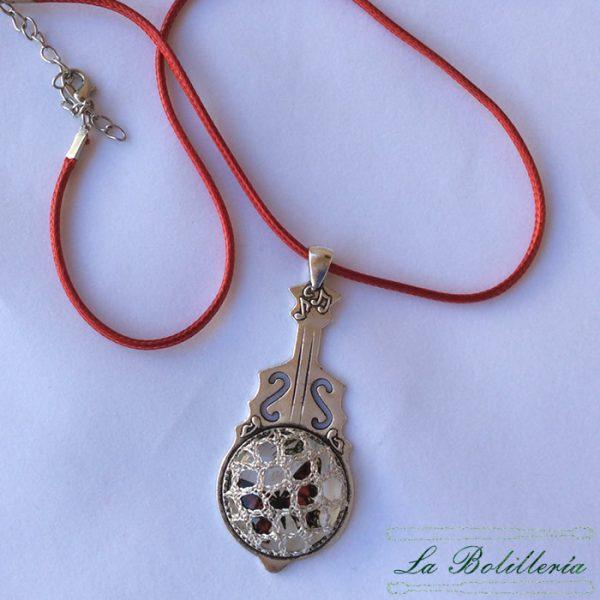 Colgante Musical Mariposa Roja