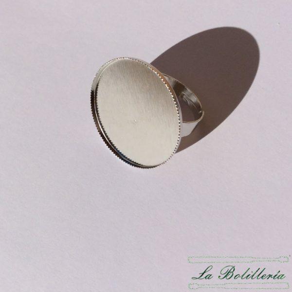 Base Anillo Redondo 25mm
