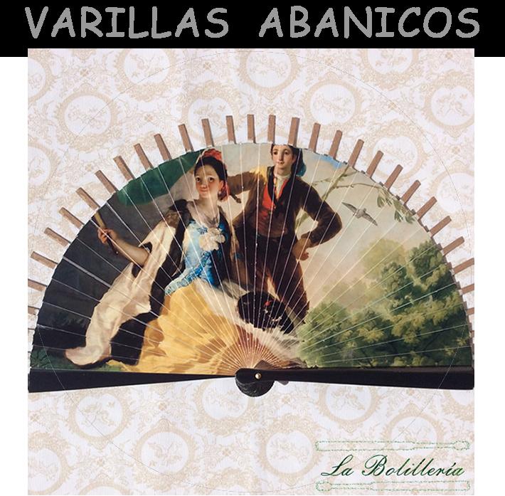 Varillas Abanicos - La Bolillería