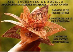 san-anton Encuentros de Encaje de Bolillos Enero 2020