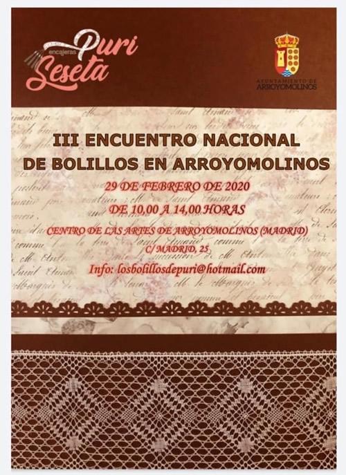 Arroyomolinos - Madrid - Encuentros de Encaje de Bolillos Febrero 2020 - La Bolillería