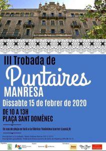 Manresa - Barcelona Encuentros de Encaje de Bolillos Febrero 2020 - La Bolillería