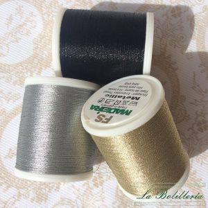 Hilo Metallic nr.15 - La Bolillería - Tu lugar para el Arte de los Bolillos