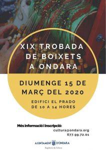 Ondara - Lleida - Encuentros de Encaje de Bolillos Marzo 2020 - La Bolillería