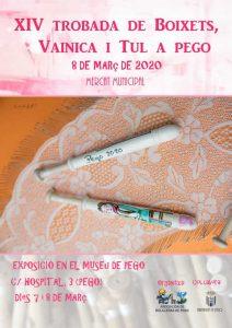 Pego - Alicante Encuentros de Encaje de Bolillos Marzo 2020 - La Bolillería