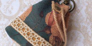 Mochila Monedero Flor - La Bolillería - Tu lugar para el Arte de los Bolillos