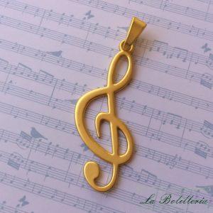 Colgante Nota Musical - La Bolillería - Tu lugar para el Arte de los Bolillos