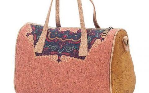 Bolso de Mano - Complemento de Corcho - La Bolillería - Tu lugar para el Arte de los Bolillos