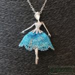 Collar Bailarina Ballet - La Bolillería - Tu Lugar para el Arte de Los Bolillos