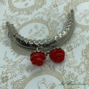 Cierre Abanico Rosas Rojo - La Bolillería Tu Lugar para el Arte de Los Bolillos