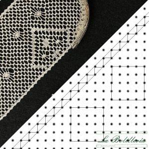 Patrón Funda Abanico - La Bolillería - Tu lugar para el Arte de los Bolillos