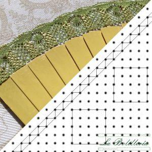 Patrón Abanico AB04 - La Bolillería - Tu lugar para el Arte de los Bolillos