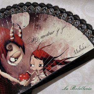 Abanico Bella - La Bolillería - Tu lugar para el Arte de los Bolillos