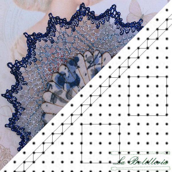 Patrón Broche BR001 - La Bolillería - Tu lugar para el Arte de los Bolillos