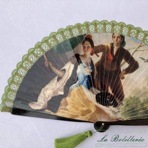 Abanico Obras Maestras 7 - La Bolillería - Tu lugar para el Arte de los Bolillos