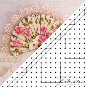 Patrón Pendientes - La Bolillería - Tu lugar para el Arte de los Bolillos