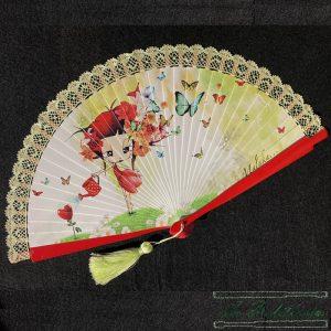 Abanico Primavera - La Bolillería - Tu lugar para el Arte de los Bolillos