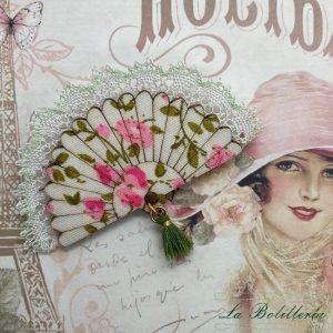 Broche Abanico - La Bolillería - Tu Lugar para el Arte de Los Bolillos