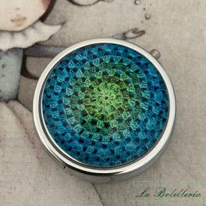 Pastillero Azul - La Bolillería - Tu Lugar para el Arte de Los Bolillos
