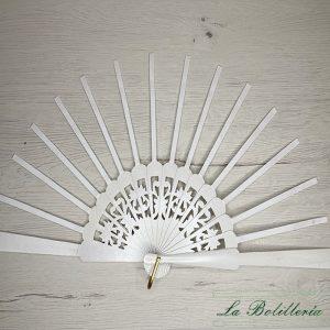 Varillas Abanico Abedul Lacado Nacarado Modelo 3 - La Bolillería - Tu Lugar para el Arte de los Bolillos