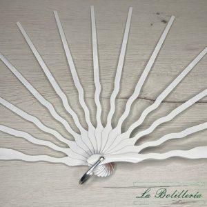 Varilla Sipo Lacado Blanco - La Bolillería - Tu lugar para el Arte de los Bolillos